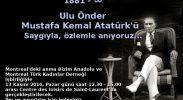 Atatürk Gönlümüzde!