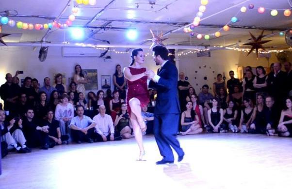 Vanessa ve Eşref Festivalito Turco'da danslarıyla soluk kestiler.