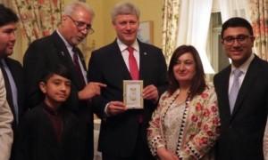 Harper a souligné l'Aïd al-Fitr