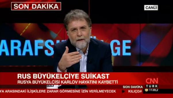 İzlencesinde olayın FETÖ bağlantısını sorgulayan Ahmet Hakan saldırganın Arapçasının kırık olduğunu söyledi.