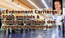 L'Événement Carrières: 5000 emplois à combler