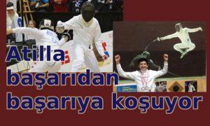Gelecek vadeden bir sporcu: Atilla Pacyna