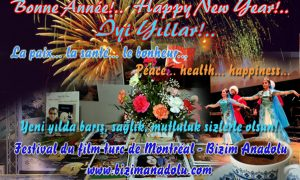 Yeni yılınız kutlu olsun! / Bonne Année! / Happy New Year!