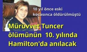 Mürüvvet Tuncer ölümünün 10. yılında anılıyor
