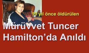 Mürüvvet Tuncer ölümünün 10. yılında anıldı
