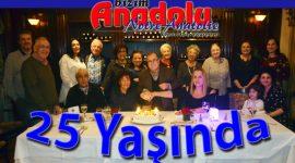 Bizim Anadolu 25 yaşını kutladı