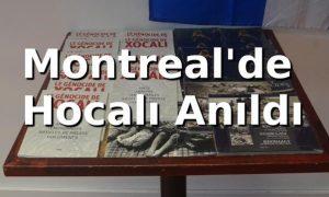 Hocalı Katliamı Montreal'de anıldı