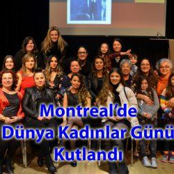 Montreal'de Dünya Kadın Günü