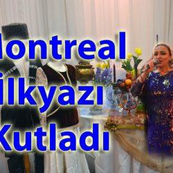 Montreal'de İlkyaz Kutlaması