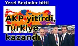 AKP yitirdi, Türkiye kazandı