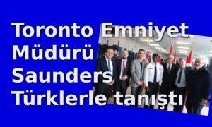 Mark Saunders Türklerle tanıştı