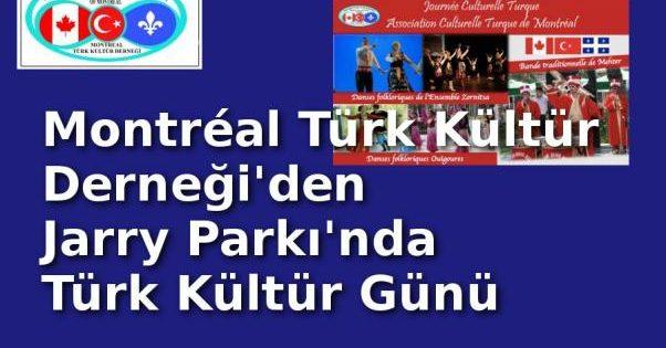 Montreal'de Türk Kültür Günü