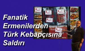 Türk kebapçısına saldırı