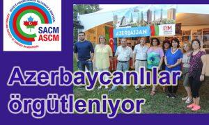 Azerbaycanlılar örgütleniyor