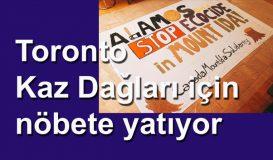 Toronto Kaz Dağları için nöbete yatıyor