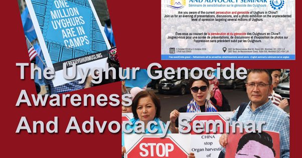 The Uyghur Genocide Awareness and Advocacy Seminar