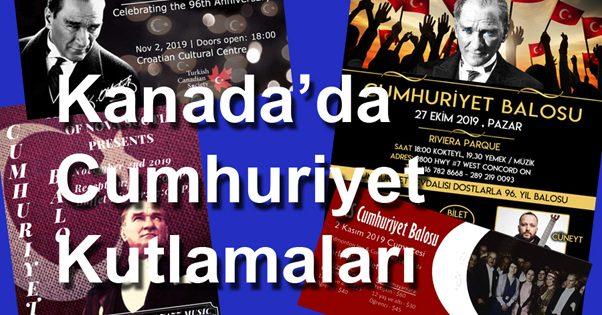 Kanada'da Cumhuriyet'in 96. yıl kutlamaları