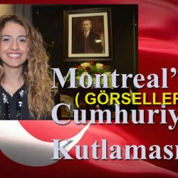 Montreal'de Cumhuriyet Resepsiyonu 2019 (Görseller)