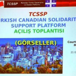 Kanadalı Türkler Dayanışma ve Destek Platformu (Görseller)