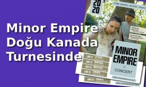 Minor Empire Kanada Turnesinde
