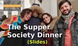 The Supper Society Sofrası-Kasım-19 (Görseller)
