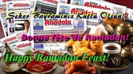 Bonne fête de Ramadan!