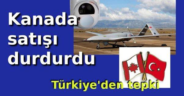Kanada askıya aldı