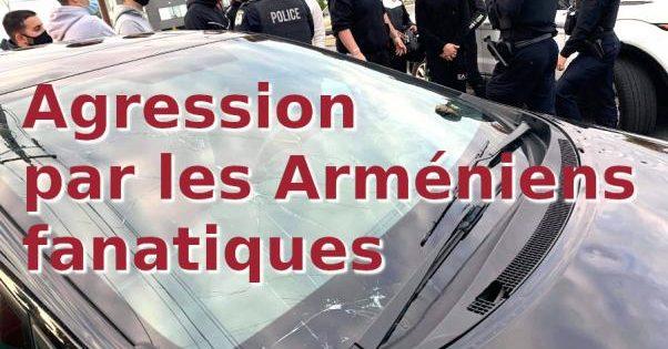 Agression par les Arméniens