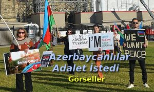 Azerbaycanlılar Adalet istedi (Görseller)
