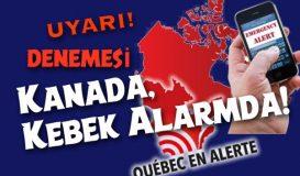 Kanada'da Uyarı!