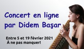 Concert en ligne par Didem Başar