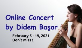 Online Concert by Didem Başar