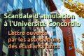 Scandale d'annulation à l'Université Concordia