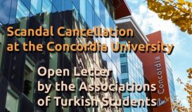 Scandal Cancellation at the Concordia University