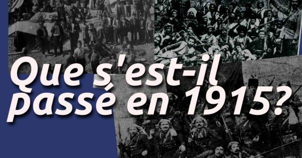 Que s'est-il passé en 1915?