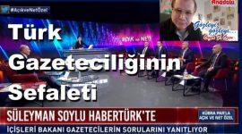 Türk Gazeteciliğinin Sefaleti