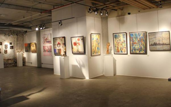 A collaborative exhibition by Turkish and Ukrainian artists.
