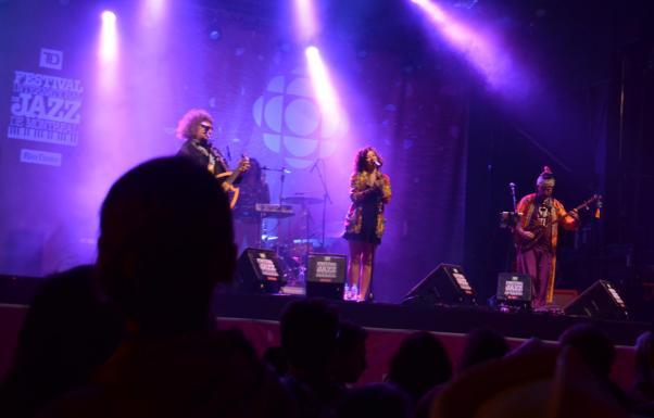 Baba Zula Montreal Caz Festivali'nde.