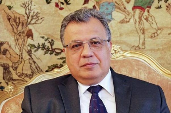 Rusya'nın Ankara Büyükelçisi Andrey Karlov,