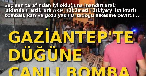Gaziantep'te 50 ölü, 74 yaralı