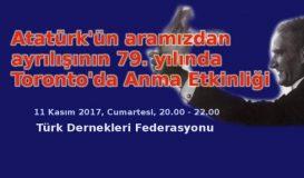 Atatürk'ü Anma Etkinliği – Federasyon