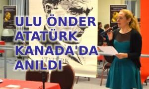 Atatürk her an yüreğimizde