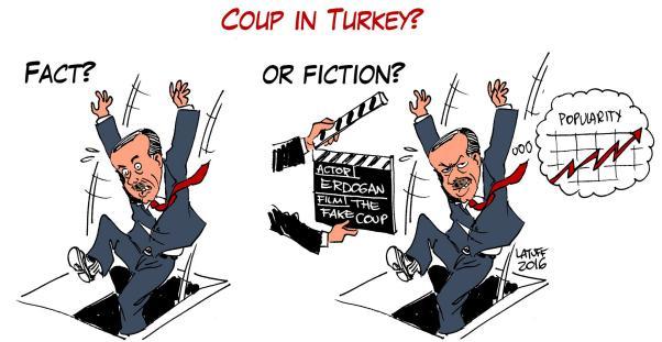 Carlos Henrique Latuff 'kalkışma' girişimini yorumladı: