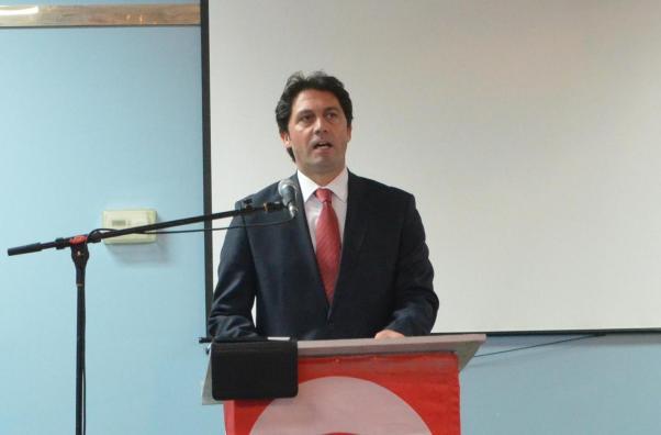 Başkonsolos Deniz Barkan Umruk açılış konuşmasını yaptı.