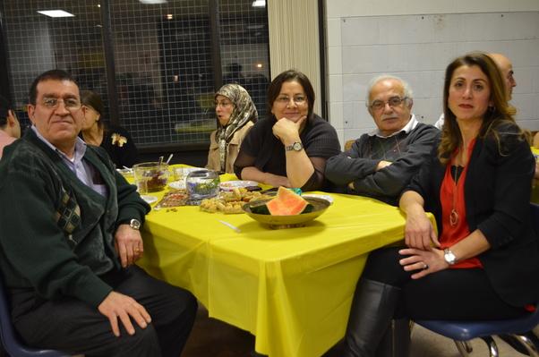 Ali Bey, Madeleine Sultan, Georges Najjar ve Rabiye Sağ Şeşen birlikte.