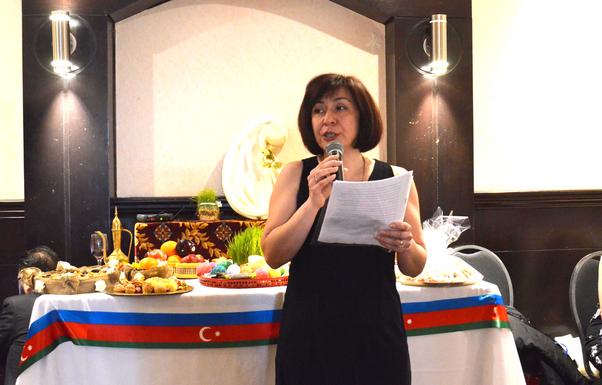 Terane Hanım İlkyaz Bayramının önemini anlattı.