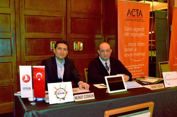 İki Murat, Murat Özgüç ve Murat Coşkun Tanıtım Etkinliğinde Türkiye'ye gezi izlenceleri sundular.