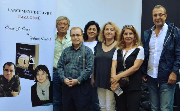 Ömer F. Özen İzmir'de Metin Altıok Sanatevi'nde şiirseverlerle buluştu.
