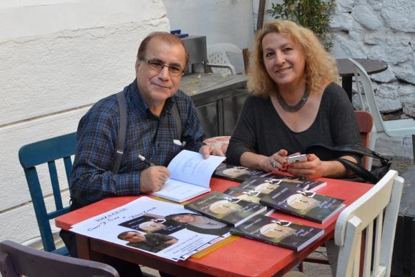 Lancement du livre à Izmir.