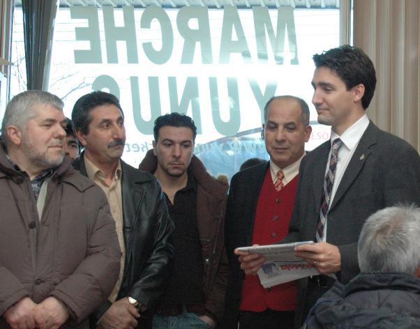 Justin Trudeau sorunları dinlerken Bizim Anadolu'yu da inceledi.